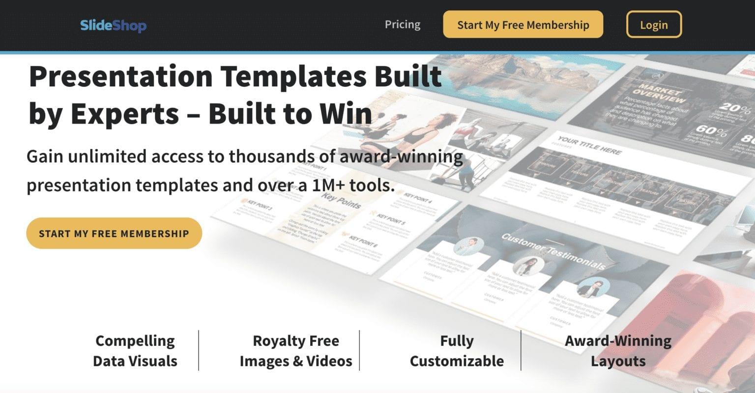 example of storybrand hero for website