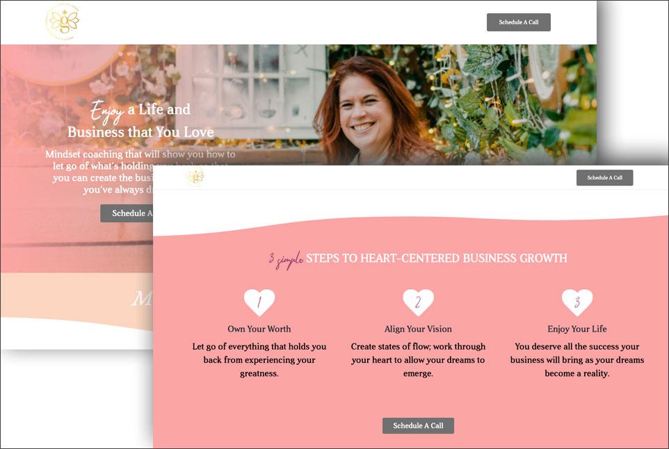 storybrand website example - mmg coaching
