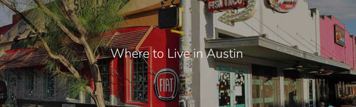 Where To Live In Austin - storybrand marketing project