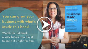 business made simple book review video